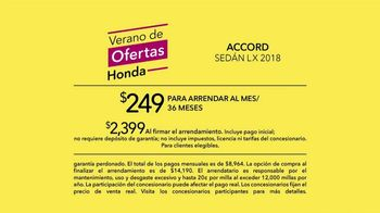 Honda Verano de Ofertas TV Spot, 'Siblings' [Spanish] [T2] - Thumbnail 7