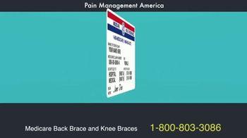 Pain Management America TV Spot, 'Medicare Back and Knee Barces' - Thumbnail 1