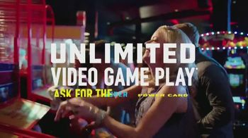 Dave and Buster's Super Power Card TV Spot, 'Unlimited' - Thumbnail 4