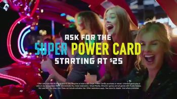 Dave and Buster's Super Power Card TV Spot, 'Unlimited' - Thumbnail 8