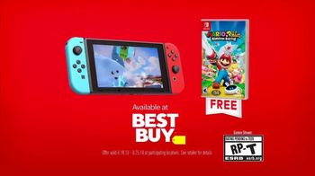 Nintendo Switch TV Spot, 'Mario + Rabbids Kingdom Battle' - Thumbnail 10