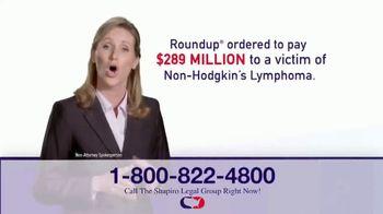Shapiro Legal Group TV Spot, 'Roundup' - Thumbnail 4