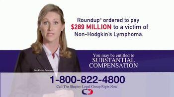 Shapiro Legal Group TV Spot, 'Roundup' - Thumbnail 5