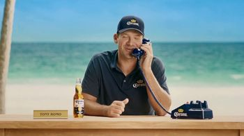 Corona Extra TV Spot, 'Hotline Returns' Featuring Tony Romo