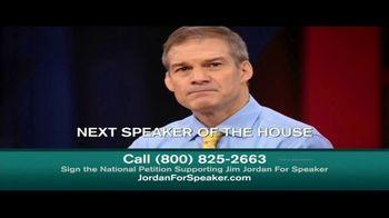 Senate Conservatives Action TV Spot, 'Jim Jordan for Speaker'