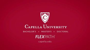 Capella University FlexPath TV Spot, 'Live and Learn: Trial Course' - Thumbnail 9