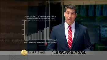 U.S. Money Reserve Gold American Eagle TV Spot, \'Gold Rush: $129\'