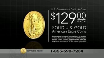 U.S. Money Reserve Gold American Eagle TV Spot, 'Gold Rush: $129' - Thumbnail 4