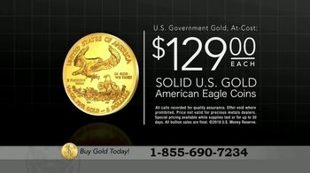 U.S. Money Reserve Gold American Eagle TV Spot, 'Gold Rush: $129' - Thumbnail 6