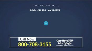 One Reverse Mortgage TV Spot, 'Older Homeowners' - Thumbnail 1