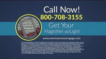 One Reverse Mortgage TV Spot, 'Older Homeowners' - Thumbnail 8