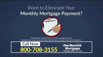 One Reverse Mortgage TV Spot, 'Older Homeowners' - Thumbnail 3