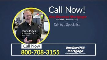 One Reverse Mortgage TV Spot, 'Older Homeowners'