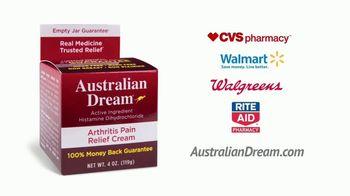 Australian Dream Arthritis Pain Relief Cream TV Spot, 'Effective Relief' - Thumbnail 10