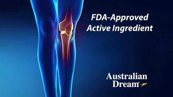 Australian Dream Arthritis Pain Relief Cream TV Spot, 'Effective Relief' - Thumbnail 3