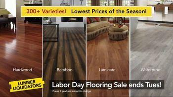 Lumber Liquidators Labor Day Flooring Sale TV Spot, 'Hardwood and Bamboo' - Thumbnail 4