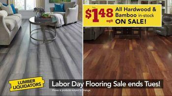 Lumber Liquidators Labor Day Flooring Sale TV Spot, 'Hardwood and Bamboo' - Thumbnail 5