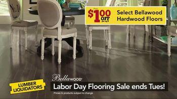 Lumber Liquidators Labor Day Flooring Sale TV Spot, 'Hardwood and Bamboo' - Thumbnail 6