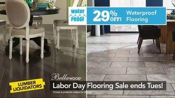 Lumber Liquidators Labor Day Flooring Sale TV Spot, 'Hardwood and Bamboo' - Thumbnail 7