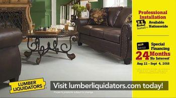 Lumber Liquidators Labor Day Flooring Sale TV Spot, 'Hardwood and Bamboo' - Thumbnail 8