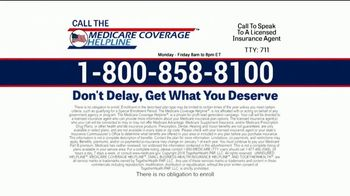 Medicare Coverage Helpline TV Spot, 'Make Sure' Featuring Joe Namath - Thumbnail 10