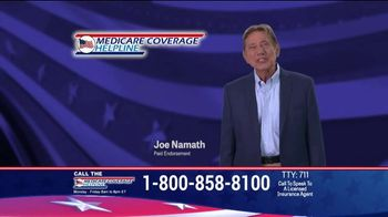 Medicare Coverage Helpline TV Spot, 'Make Sure' Featuring Joe Namath - Thumbnail 4