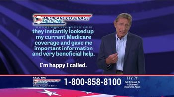 Medicare Coverage Helpline TV Spot, 'Make Sure' Featuring Joe Namath