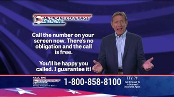 Medicare Coverage Helpline TV Spot, 'Make Sure' Featuring Joe Namath - Thumbnail 8