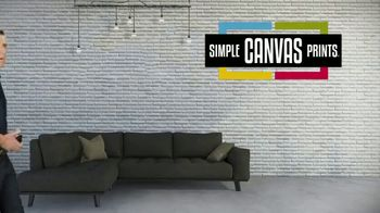 Simple Canvas Prints TV Spot, 'Bring Your Images to Life' - Thumbnail 1