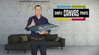 Simple Canvas Prints TV Spot, 'Bring Your Images to Life' - Thumbnail 2