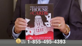 U.S. Money Reserve TV Spot, 'House of Cards' Featuring Chuck Woolery - Thumbnail 9