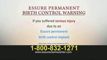Bailey Peavy Bailey Cowan Heckaman, PLLC TV Spot, 'Essure Birth Control' - Thumbnail 1