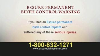 Bailey Peavy Bailey Cowan Heckaman, PLLC TV Spot, 'Essure Birth Control' - Thumbnail 5