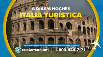 Costamar Travel TV Spot, 'Italia, España y Argentina' [Spanish]