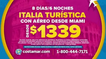Costamar Travel TV Spot, 'Italia, España y Argentina' [Spanish] - Thumbnail 4