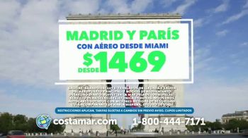 Costamar Travel TV Spot, 'Cancún, Chile y Madrid' [Spanish]