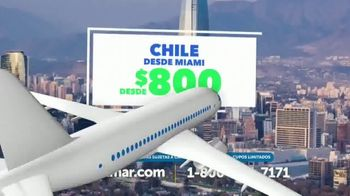 Costamar Travel TV Spot, 'Cancún, Chile y Madrid' [Spanish] - Thumbnail 4