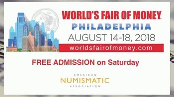 American Numismatic Association TV Spot, '2018 World's Fair of Money' - Thumbnail 9