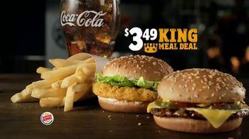 Burger King $3.49 King Meal Deal TV Spot, 'Nuggets' - Thumbnail 1