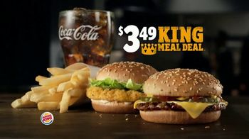 Burger King $3.49 King Meal Deal TV Spot, 'Nuggets' - Thumbnail 2