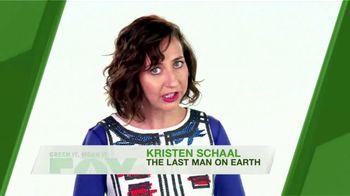 FOX TV Spot, 'Green It. Mean It.: Water Temperature' Feat. Kristen Schaal - Thumbnail 4