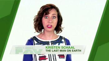 FOX TV Spot, 'Green It. Mean It.: Water Temperature' Feat. Kristen Schaal - Thumbnail 5