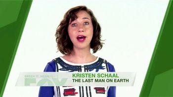 FOX TV Spot, 'Green It. Mean It.: Water Temperature' Feat. Kristen Schaal - Thumbnail 6