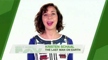 FOX TV Spot, 'Green It. Mean It.: Water Temperature' Feat. Kristen Schaal - Thumbnail 8