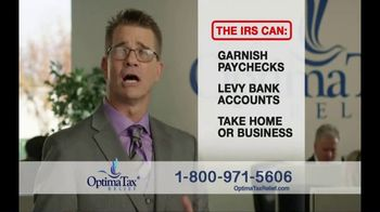 Optima Tax Relief TV Spot, 'If They Want Your Money They'll Take It'
