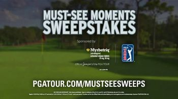 PGA TOUR Must-See Moments Sweepstakes TV Spot, 'Nerve-Racking' - Thumbnail 10