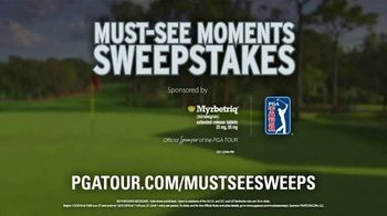 PGA TOUR Must-See Moments Sweepstakes TV Spot, 'Nerve-Racking' - Thumbnail 9