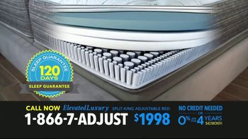 Elevated Luxury Split-King Adjustable Bed TV Spot, 'Buy Direct' - Thumbnail 4