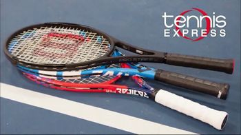 Tennis Express TV Spot, 'Federer Rackets' - Thumbnail 1