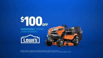 Lowe's TV Spot, 'Good Backyard: Riding Lawn Mowers' - Thumbnail 4